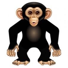 Monkey Love Monkey Cutout