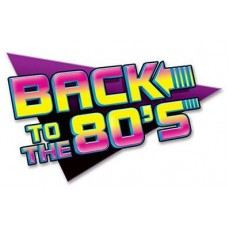 Totally 80's Sign Back to the 80's Cutout 39cm x 61cm