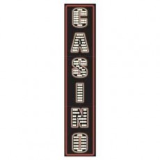Casino Night Pull Down Jointed Cutout