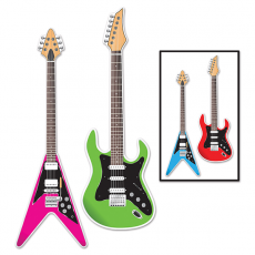Rock n Roll Guitar Cutouts