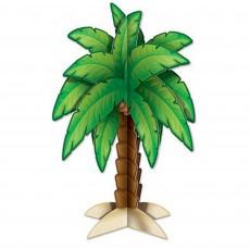 Hawaiian Luau 3D Palm Tree Centrepiece