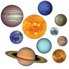 Space Blast Solar System Planets Cutouts