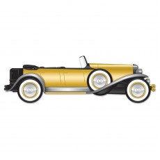Great 1920's Roadster Jointed Car Cutout 30cm x 130cm