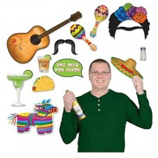 Mexican Fiesta Photo Booth Fun Signs Photo Props