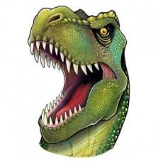 Dinosaur Head Cutout