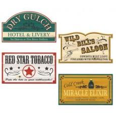 Cowboy & Western Western Old Style Cutouts