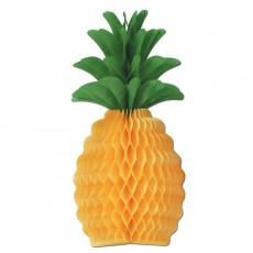 Yellow Large Pineapple Honeycomb Centrepiece