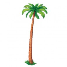 Hawaiian Luau Palm Tree Jointed Cutout