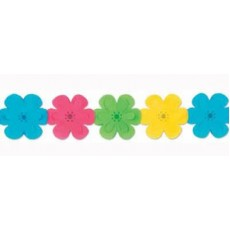 Multi Colour ed Flower Garland