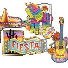 Mexican Fiesta Cardboard Cutouts