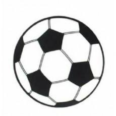 Soccer Ball Cardboard Cutout 34cm