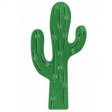 Cowboy & Western Cactus Foil Silhouette Cutout 43cm