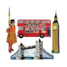British Party Decorations - Cutouts