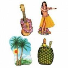 Hawaiian Luau Cutouts