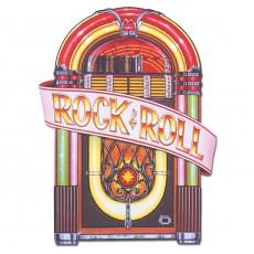 Rock n Roll Jukebox Cutout 59cm x 91cm