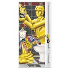 Hollywood Awards Night Restroom Cover Wall Decoration