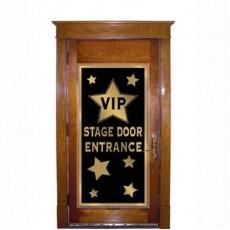 Hollywood Awards Night VIP Stage Door Entrance Door Decoration 76cm x 152cm