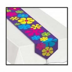 Feeling Groovy & 60's Printed Retro Flowers Table Runner 28cm x 183cm