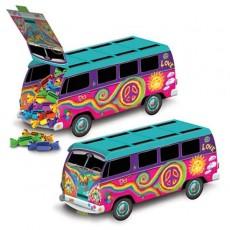 Feeling Groovy & 60's 60s Peace Bus Kombi Van Centrepiece 24cm