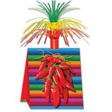 Mexican Fiesta Chilli Peppers Cascade Centrepiece 38cm