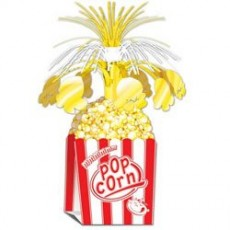 Hollywood Popcorn Centrepiece