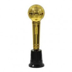 Hollywood Gold Awards Night Microphone Trophie