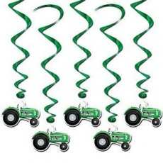 Tractor Time Tractor Whirl Hanging Decorations