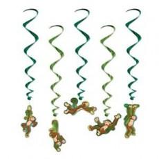 Monkey Love Monkey Whirls Hanging Decorations