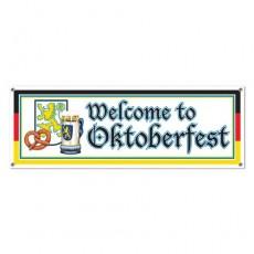 Welcome to Oktoberfest! Banner 53cm x 152cm