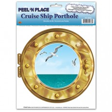 Misc Occasion Cruise Ship Porthole Peel & Place Sticker