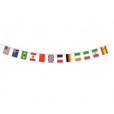 International Flags 12 Pennant Banner