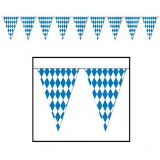 Oktoberfest Jumbo Flag Pennant Banner 43cm x 9.14m