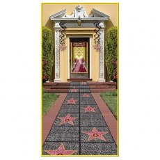 Hollywood Star Walk of Fame Floor Runner Misc Decoration