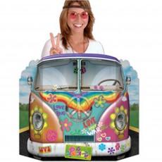 Feeling Groovy & 60's 60s Hippie Combie Bus Photo Prop 94cm x 64cm