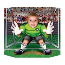 Soccer Goal Keeper Photo Prop
