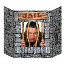 Cowboy & Western Jail Photo Prop