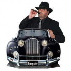 Great 1920's Gangster Car Photo Prop