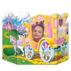 Princess Party Supplies - Photo Prop Carriage