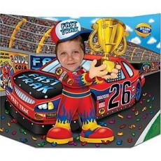 Misc Occasion Race Car Driver Photo Prop