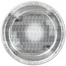 Disco & 70's Disco Ball Dinner Plates