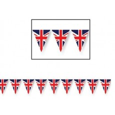 British Party Decorations - Pennant Banner Union Jack