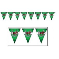 Horse Racing Flag Pennant Banner