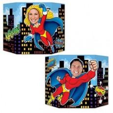Misc Occasion Super Hero Photo Prop 94cm x 64cm