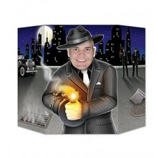 Great 1920's Gangster Shooter Photo Prop