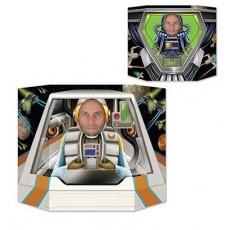 Space Blast Party Supplies - Photo Prop Space Pilot Astronaut