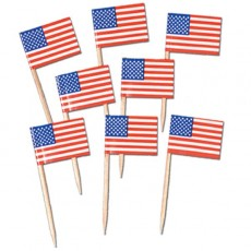 USA American Flag Party Picks