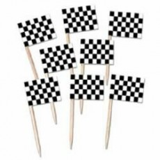 Check Black & White ered Racing Flag Party Picks