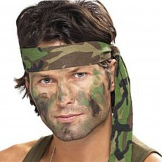 Camouflage Party Supplies - Bandana