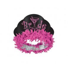 Bridal Shower Bride Glittered Tiara