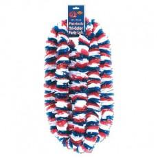 USA Party Supplies - Patriotic Soft Twist Poly Plastic Leis